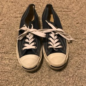 Converse Navy Sneakers